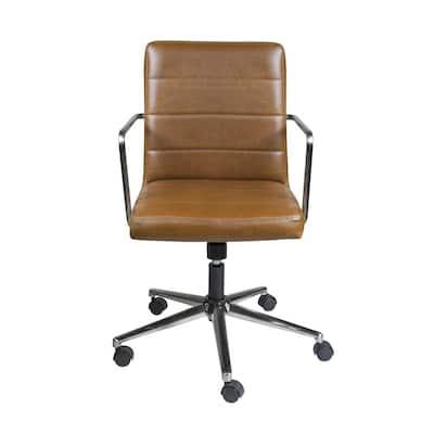 Leander Brown Low Back Office Chair