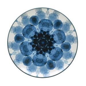 Colorwave Blue Stoneware Dapple Accent Plate 8-1/4 in.
