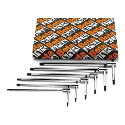 T-Handle Hex Key Wrench 2.5, 3, 4, 5, 6, 8 mm (6-Piece)