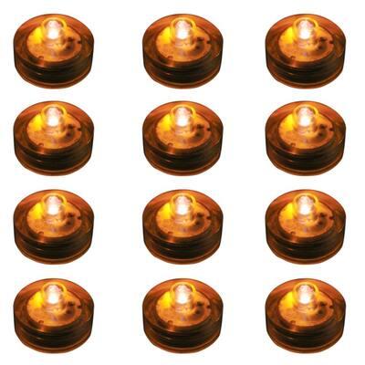 Orange Submersible LED Lights (Box of 12)