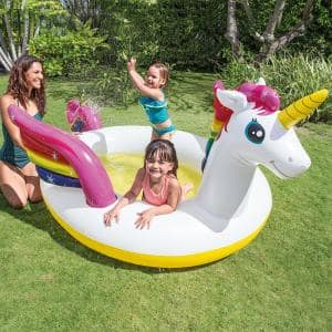 Unicorn Spray Inflatable Kiddie Pool