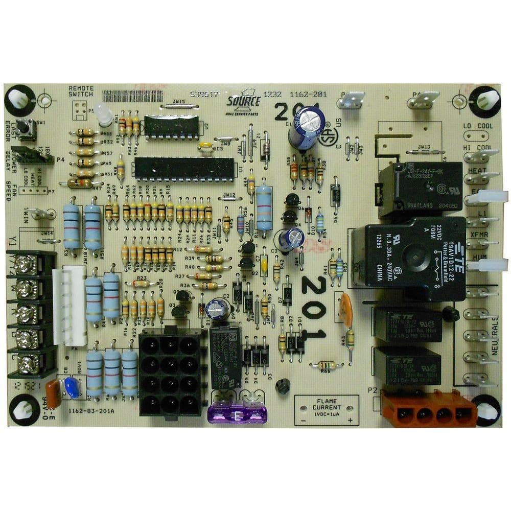 Control Board for Single Stage Gas Furnaces-331-03010-000 - The Home Depot | Hvac Control Board Wiring |  | The Home Depot