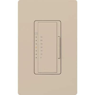 Maestro 5 Amp In-Wall Digital Timer - Taupe