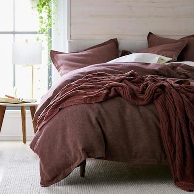 Landon Cotton and Linen Duvet Cover