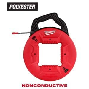 50 ft. Polyester Fish Tape with Non-Conductive Tip
