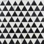 Zandara Gris Nero 13.6 in. x 23.6 in. Polished Marble Floor and Wall Mosaic Tile (2.22 sq. ft./Each)