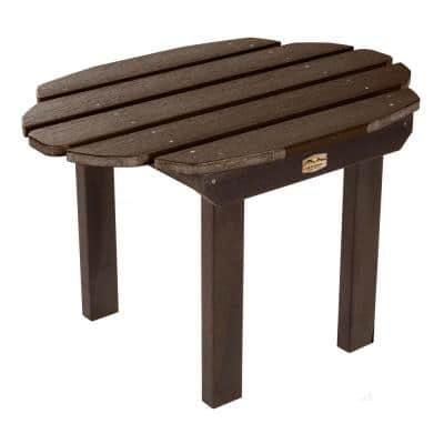 Essential Canyon Rectangular Recycled Plastic Outdoor Side Table