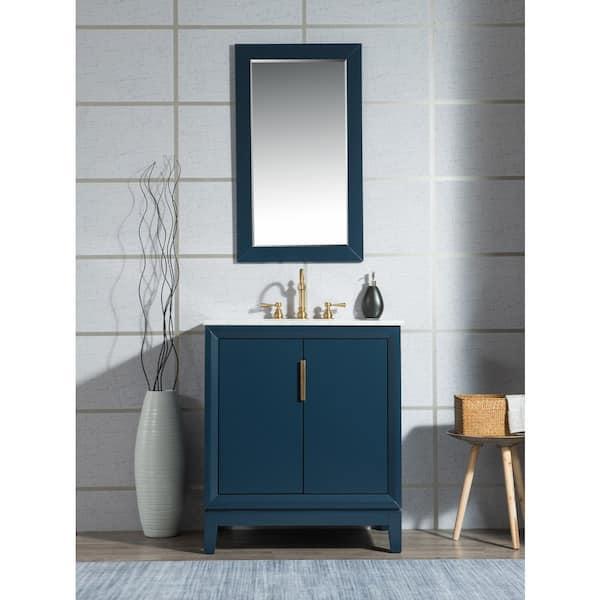 In Bath Vanity Monarch Blue, Home Depot Bathroom Vanities 30