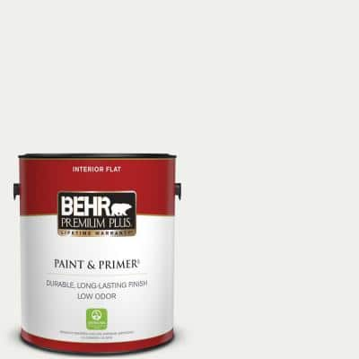 1 gal. #57 Frost Flat Low Odor Interior Paint & Primer