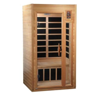 1-2 Person Carbon Infrared Sauna with 7 Year Warranty