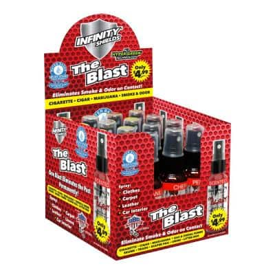 The Blast Smoke and Odor Eliminator (Box of 16 Mini Pump Sprayers (1.67 oz. Each) Scented