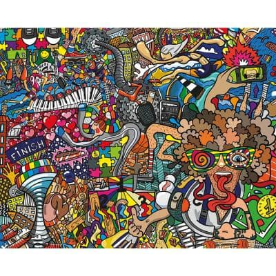 Sports Illustrations Wall Mural