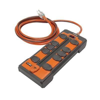 10-Outlet Surge Protector Plus USB