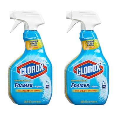 30 oz. Bleach Foamer Bathroom Spray Cleaner (2-Pack)