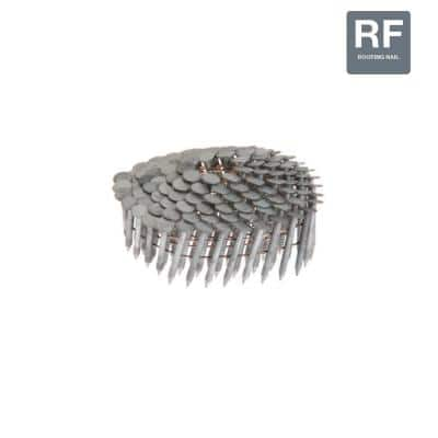 1-1/4 in. x 0.120 in. 15° Hot Galvanized Ring Shank Coil Roofing Nails (7,200-Pack)