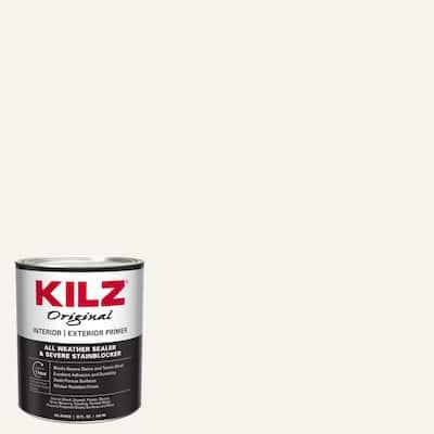 Original 1 qt. White Oil-Based Interior and Exterior Primer, Sealer, and Stain Blocker