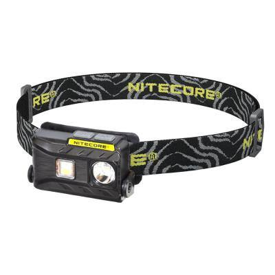 NU Series 360-Lumen LED Rechargeable Headlamp with White Red Reading Light Triple Output
