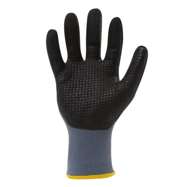 Small 212 Performance Gloves AXDG-16-008 AX360 Dotted Grip Nitrile-dipped Work Glove 12-Pair Bulk Pack