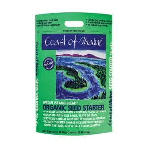 16 qt. Sprout Island Organic Seed Starter for Root Plant Cuttings