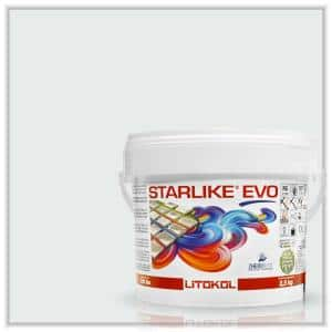 Starlike EVO Epoxy Grout 102 Bianco Ghiaccio Classic Collection 2.5 kg - 5.5 lbs.