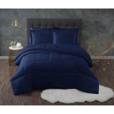 Everyday Antimicrobial Down Alternative Comforter Set