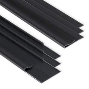 EZ-On Grid Cover Kit - Snap On - Onyx - 72 Linear ft.