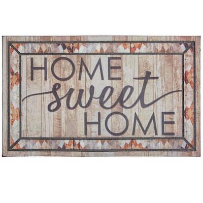 Rustic Sweet Home 18 in. x 30 in. Doorscapes Mat