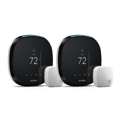 4, 7-Day Smart Thermostat Value Bundle