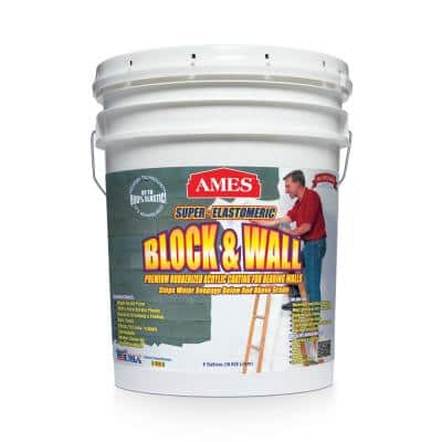 Block and Wall Acrylic 5 gal. Waterproof Coating