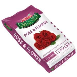 16 lb. Organic Rose and Flower Plant Food Fertilizer with Biozome, OMRI Listed