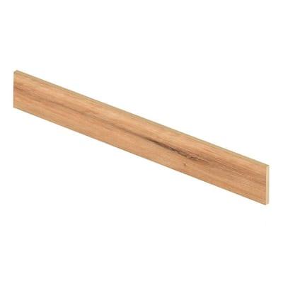 Fresh Oak/Elk Wood 94 in. L x 1/2 in. T x 7-3/8 in. W Vinyl Overlay Riser