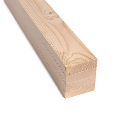 1 in. x 3 in. x 2 ft. SPF Premium Sanded Boards (4-Pack)