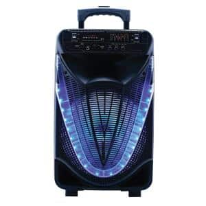 Portable Bluetooth Party Speaker with Disco Light