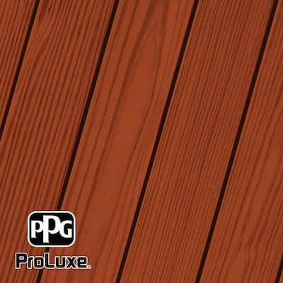 1 gal. #HDG-ST-219 Honey Brown SRD Exterior Semi-Transparent Matte Wood Finish