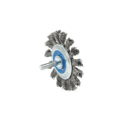 2-3/4 in. Mounted Brush Knot-Twisted Wires
