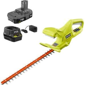 ONE+ 18V 18 in. Cordless Battery Hedge Trimmer with 1.5 Ah Battery and Charger