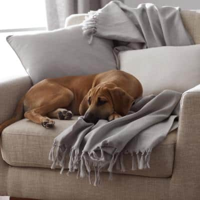 Linen Neck Roll / Bolster Pillow Cover