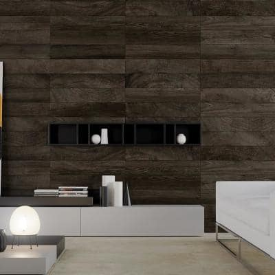 Redemption Brown 7 in. x 36 in. Matte Ceramic Floor Tile (15.43 sq. ft. / carton)