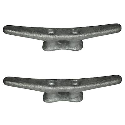 8 in. Galvanized Steel Dock Cleat