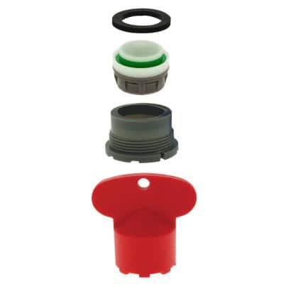 1.5 GPM Delta Water-Saving Hidden Aerator 13/16 in. -27 with Key