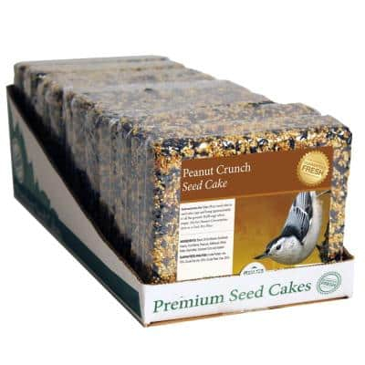 2 lbs. Peanut Crunch Seed Cake (8-Pack)