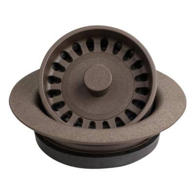 3-1/2 in. Kitchen Sink Decorative Disposal Flange in Brown