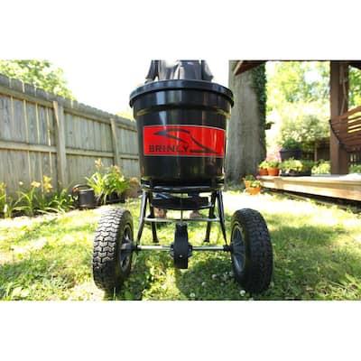 50 lb. Capacity Push Broadcast Spreader