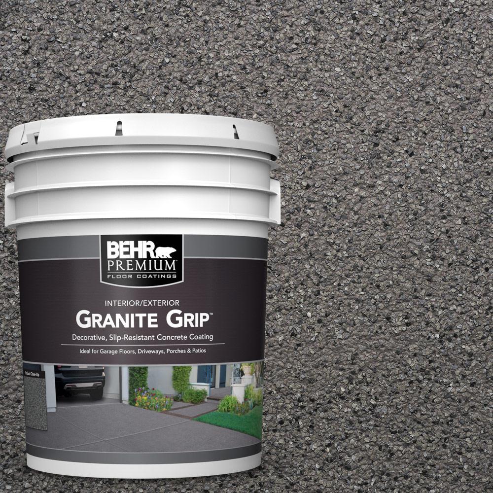 5 gal. #GG-07 Ornamental Gem Decorative Flat Interior/Exterior Concrete Floor Coating