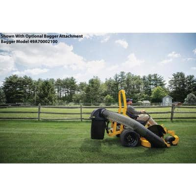 Ultima ZTX4 60 in. Fabricated Deck 24 HP V-Twin Kohler 7000 Pro Series Engine Zero Turn Mower with Roll Over Protection