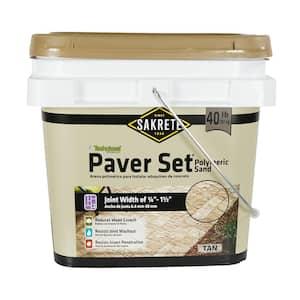 Paver Set 40 lbs. Tan Paver Joint Sand