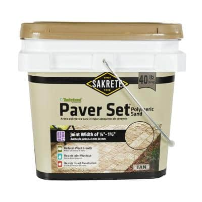 Paver Set 40 lbs. Tan Paver Joint Sand