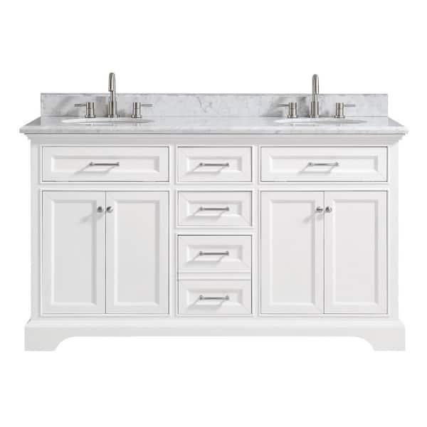 Home Decorators Collection Windlowe 61, Home Depot Bathroom Vanities