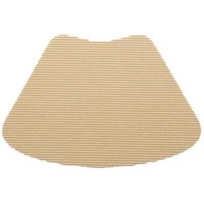 Fishnet Wedge Placemat in Tan (Set of 12)