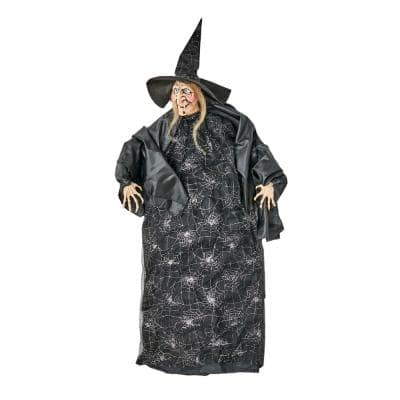 50 in. Halloween Hanging Witch
